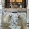 Fontana dell'Acqua Paola, część środkowa fontanny