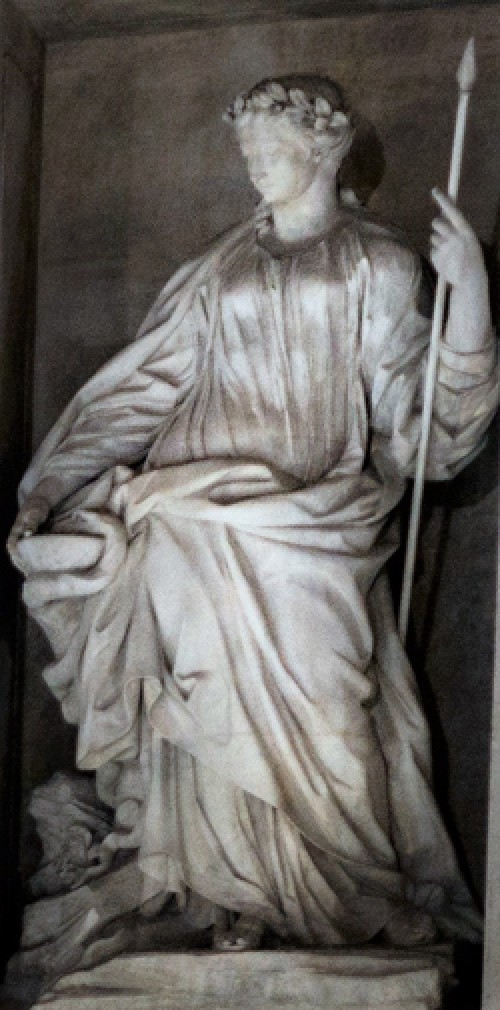 Fontana di Trevi, alegoria Zdrowia