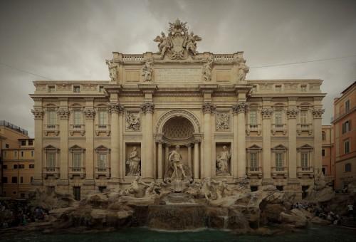 Fontana di Trevi, zdj. Wikipedia, autor Diliff