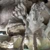 Fontana di Trevi, Konie morskie prowadzone przez trytony, Pietro Bracci