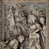 Fontana di Trevi, relief - Dziewica wskazująca rzymskiemu żołnierzowi źródło