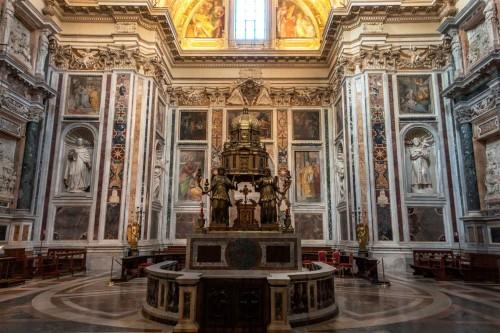 Domenico Fontana, Cappella Sistina, Basilica Santa Maria Maggiore