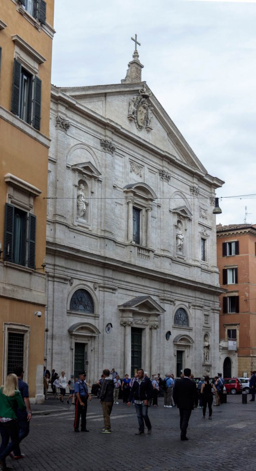 Domenico  Fontana, façade of the Church of San Luigi dei Francesi