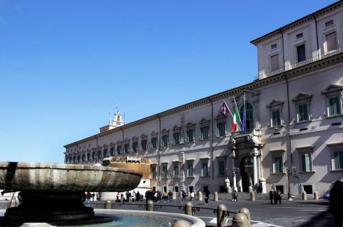 Domenico Fontana, fasada Palazzo Quirinale od strony Piazza del Quirinale