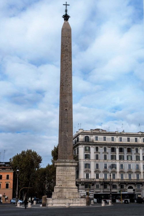 Domenico Fontana, obelisk przed bazyliką San Giovanni in Laterano