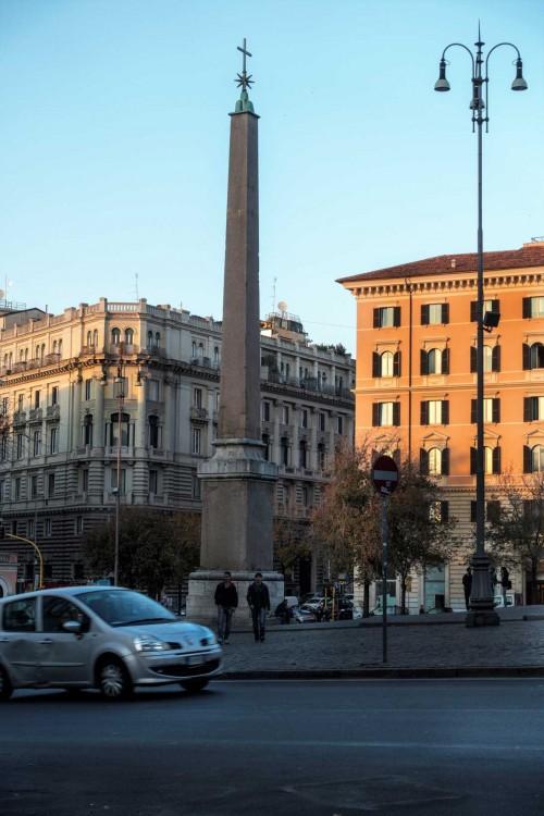 Domenico Fontana, obelisk przed bazyliką Santa Maria Maggiore