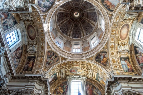 Domenico Fontana, zwieńczenie kaplicy Sykstyńskiej w bazylice Santa Maria Maggiore