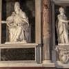 Domenico Fontana, pomnik nagrobny papieża Mikołaja IV, kościół Santa Maria Maggiore (po lewej strony od wejścia)