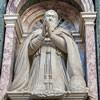 Domenico Fontana, design of the statue of Pope Sixtus V, Cappella Sistina, Basilica of Santa Maria Maggiore