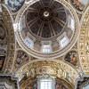 Domenico Fontana, ukończenie budowy kopuły bazyliki San Pietro in Vaticano, projekt Michał Anioł