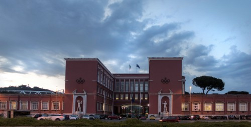 Foro Italico, Accademia di Educazione Fisica, Enrico del Debbio