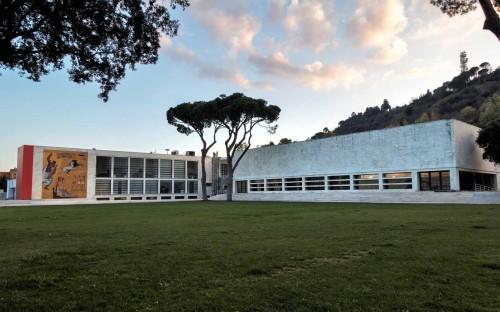 Foro Italico, Casa delle Armi, design Luigi Moretti