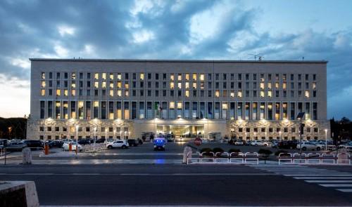 Palazzo della Farnesina, obecnie siedziba ministerstwa spraw zagranicznych