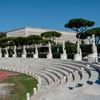 Foro Italico posągi atletów zdobiące Stadio dei Marmi