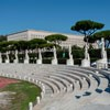 Foro Italico, statues of athletes adorning Stadio dei Marmi
