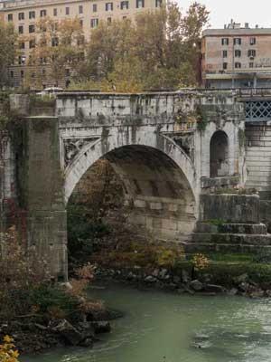 Most - Ponte Rotto, dawny Ponte Emilio