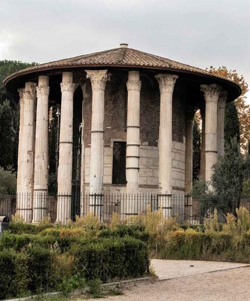 Świątynia Herkulesa Victora, Forum Boarium