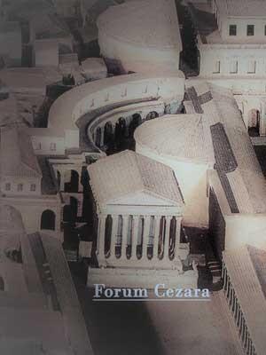 Forum Cezara, makieta, Museo della Civiltà Romana