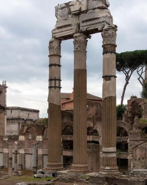Forum of Caesar, remains of the Temple of Venus Genetrix