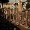 Forum of Caesar seen from Forum Romanum