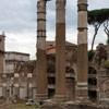 Forum Cezara, pozostałości świątyni Wenus Genetrix