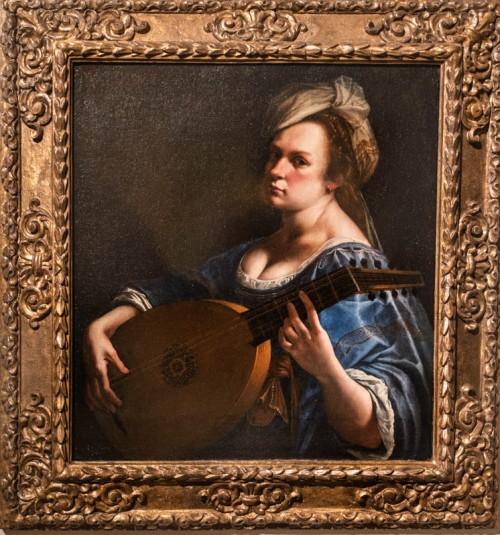 Artemisia Gentileschi, autoportret, Hartford, Wadsworth Atheneum Museum of Art