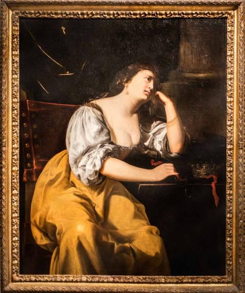 Artemisia Gentileschi, Kleopatra, kolekcja prywatna