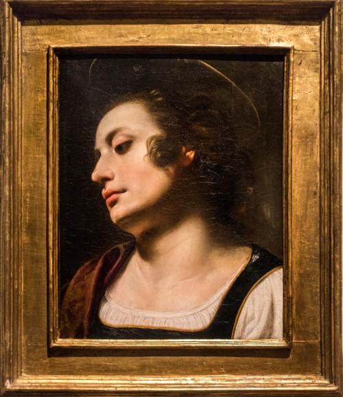Artemisia Gentileschi, nieznana święta, kolekcja prywatna