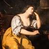 Artemisia Gentileschi, Cleopatra, private collection