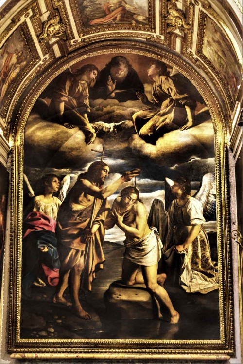 Orazio Gentileschi, Chrzest Chrystusa, kościół Santa Maria della Pace