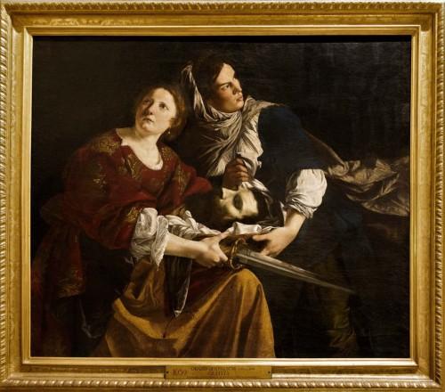 Orazio Gentileschi, Judyta z głową Holofernesa, Musei Vaticani - Pinacoteca Vaticana