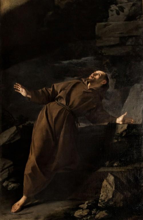 Orazio Gentileschi, Stygmatyzacja św. Franciszka, kościół San Silvestro in Capite
