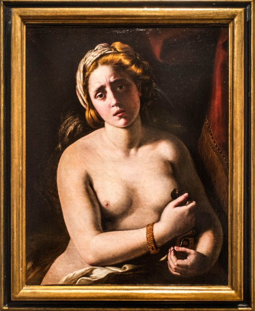Antiveduto Gramatica, The Suicide of Cleopatra, approx. 1610, private collection