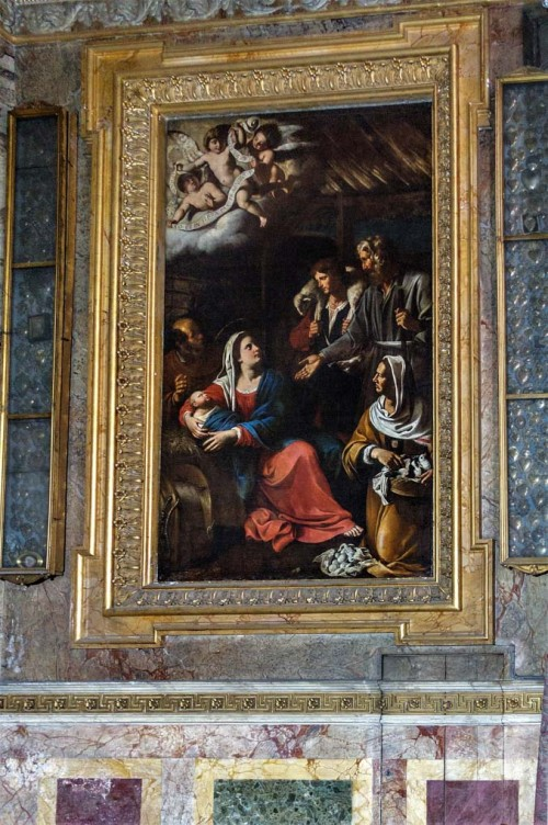 Antiveduto Grammatica, Adoration of the Shepherds, Church of San Giacomo in Augusta