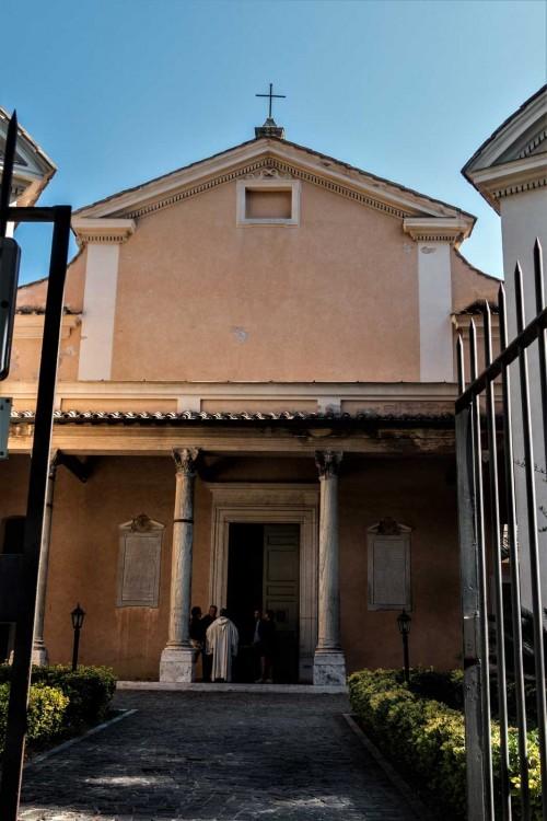 Sant'Andrea Oratory on Celio Hill