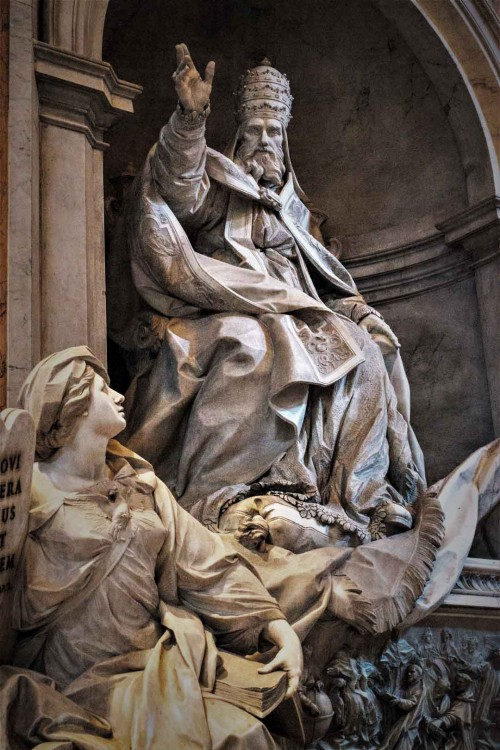 Nagrobek papieża Grzegorza XIII, Camillo Rusconi, bazylika San Pietro in Vaticano