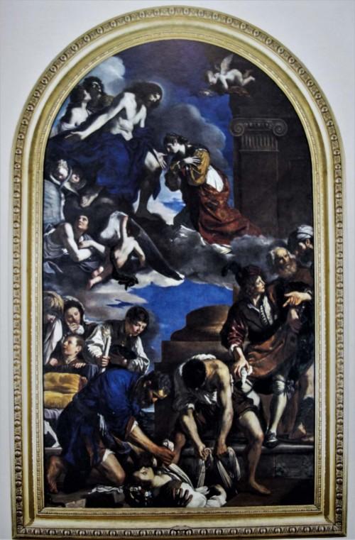Pogrzeb św. Petroneli, Guercino, Musei Capitolini-Pinacoteca Capitolina