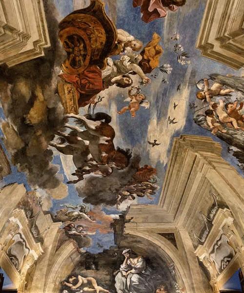 Guercino, Casino Ludovisi, fresk Aurora