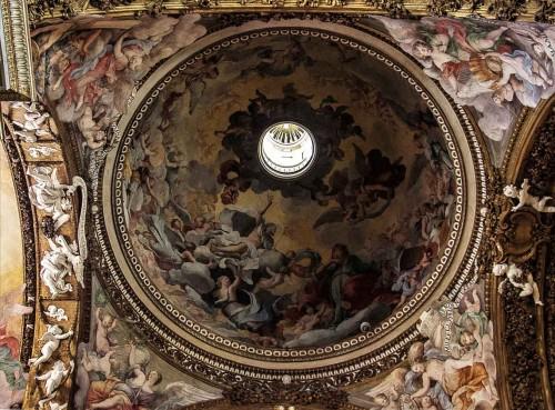 Guercino, freski w kopule kościoła Santa Maria della Vittoria
