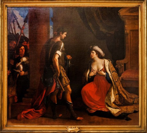Guercino, Kleopatra przed Oktawianem, Pinacoteca Capitolina