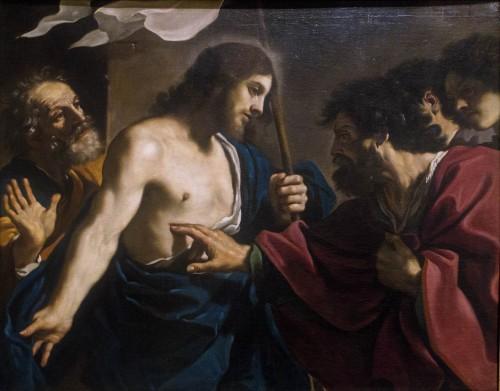 Guercino, Niewierny Tomasz, Pinacoteca Vaticana