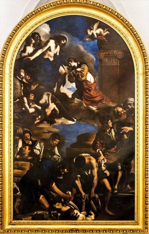 Guercino, Pogrzeb św. Petronelli, Pinacoteca Capitolina