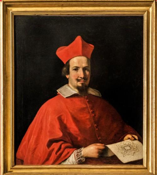Guercino, portret kardynała Bernardino Spady, Galleria Spada
