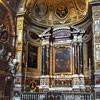 Guercino, Św. Augustyn w otoczeniu świętych, bazylika Sant'Agostino