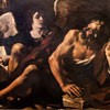 Guercino, św. Mateusz z aniołem, Pinacoteca Capitolina