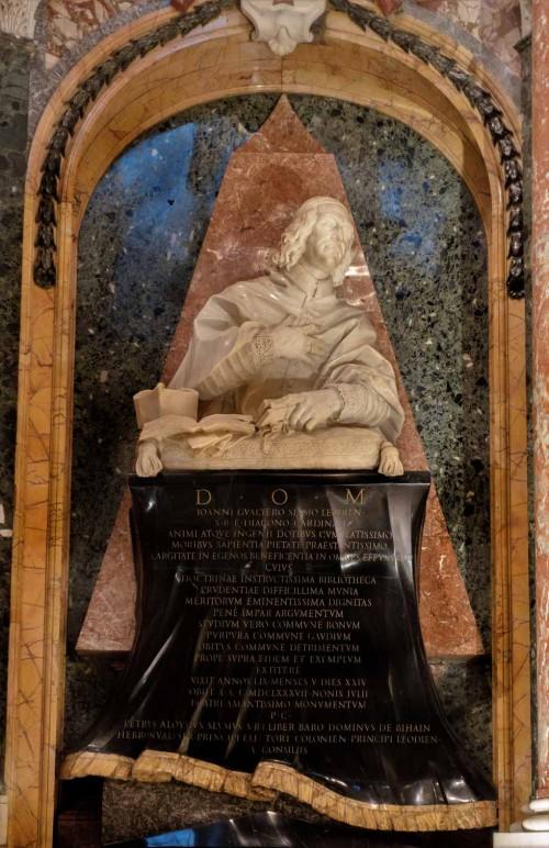 Domenico Gaudi, pomnik nagrobny kardynała Gauthier de Sluse, kościół Santa Maria dell'Anima