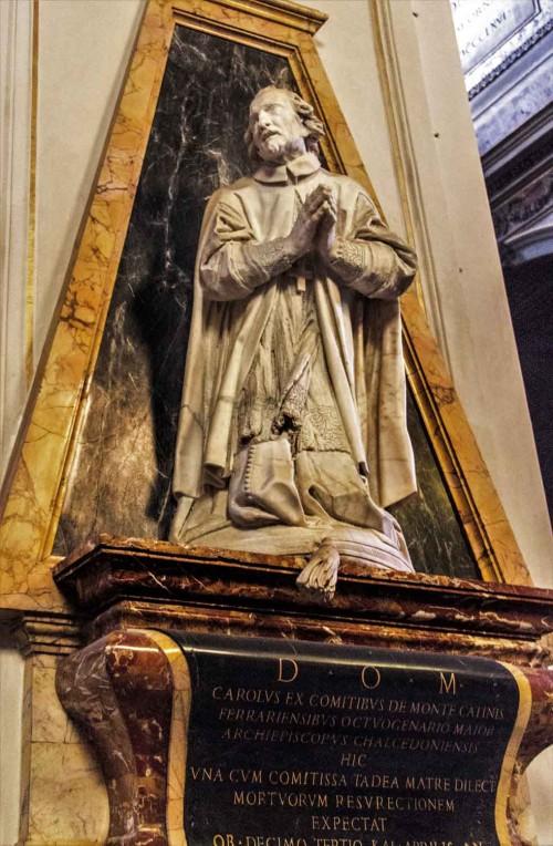 Domenico Guidi, tombstone of Carlo di Montecatini, Church of Santa Maria in Aquiro