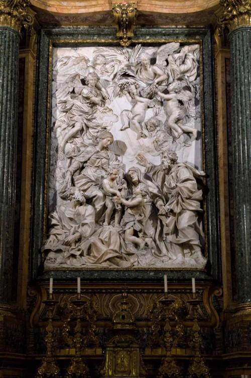 Domenico Guidi, main altar of the Church Sant'Agnese in Agone