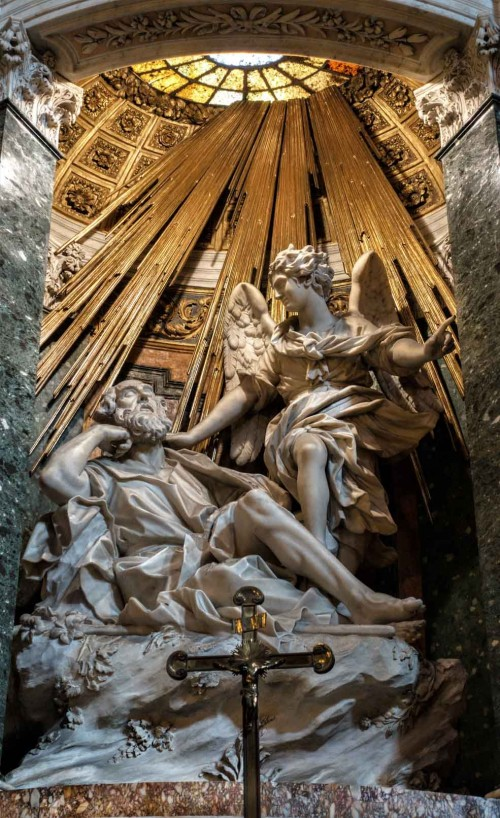 Domenico Guidi, ołtarz św. Józefa, kościół Santa Maria della Vittoria
