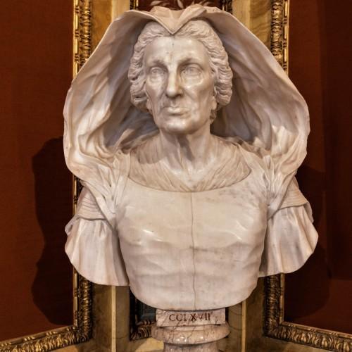 Domenico Guidi, bust of Felice Zacchia Rondinini, Galleria Borghese